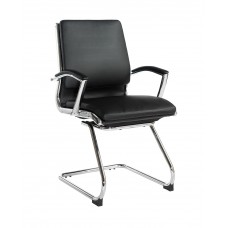 Florence Leather Visitor Chair FLO100C1